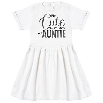 I'm Cute Just Like My Auntie Baby Dress