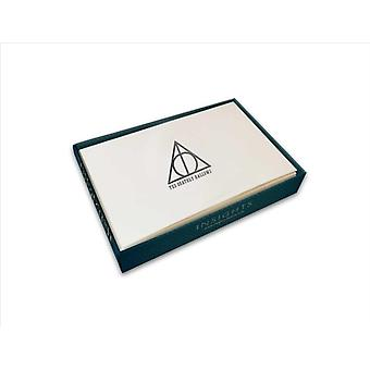 Harry Potter Deathly Hallows Foil Note Cards