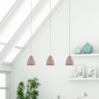 Terra 3 mini hanger verlichting beton-LED opknoping lichtpunt