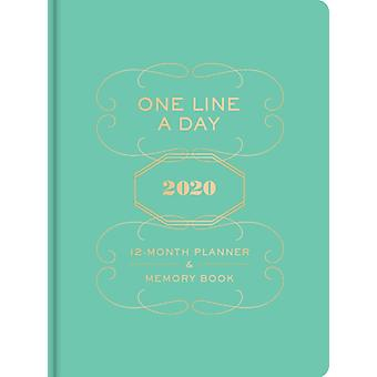 One Line a Day 2020 12Month Planner