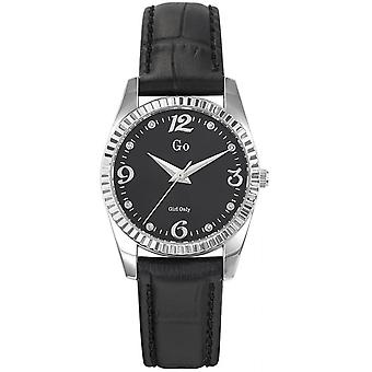 Go Girl Only 698760 - watch black leather woman
