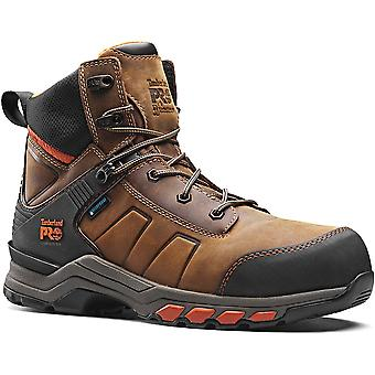 Timberland Pro Mens Hypercharge Leather Lace Up Safety Boots