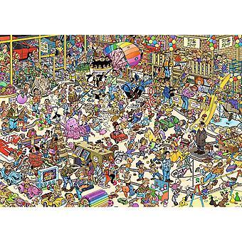 Jan Van Haasteren il Toy Shop Jigsaw Puzzle (1000 pezzi)