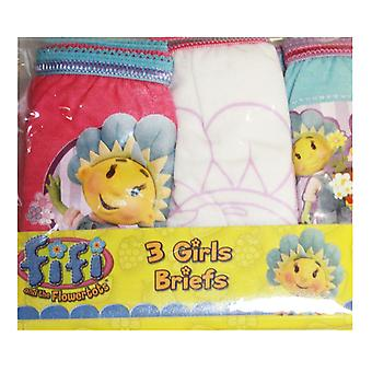 Girls Briefs FIFI & FLOWERTOTS 6pk
