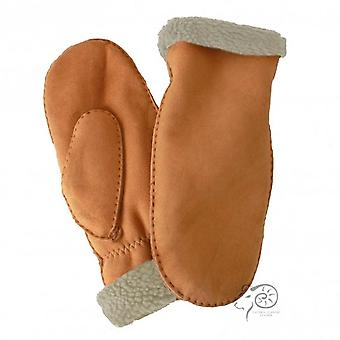 Eastern Counties Leather Womens/Ladies Full Hand Sheepskin Mittens