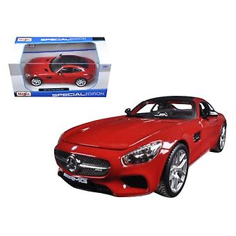 Mercedes AMG GT Red 1/24 Diecast Model Car by Maisto