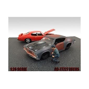 Meccanico Lucas Figura per 1:24 Diecast Model Cars di American Diorama