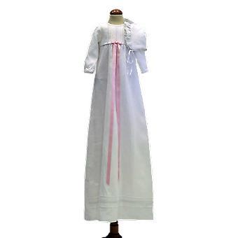 Dopklänning Grace Of Sweden,  Med Lång ärm Och Dophätta  Tr.v.l