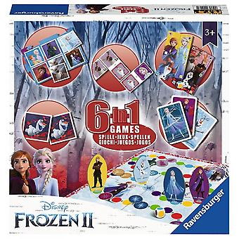 Disney frozen congelato 2 Ravensburger 6 in 1 Giochi Box Set