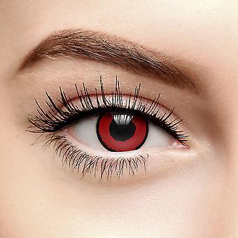 Rød Voldemort Fargede Kontaktlinser (1 år)