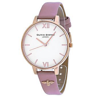 Olivia Burton Women's White Dial Watch - OB16ES15
