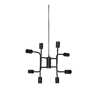 Könnyű és élő függő lámpa 8L 60x50cm Marinelle Black