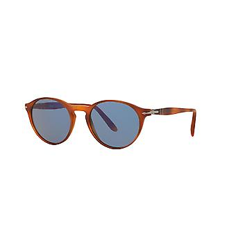 Persol PO3092SM 9006/56 Light Havana/Blue Sunglasses
