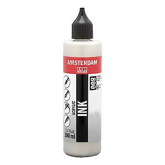Amsterdam Acrylic Ink 100ml (800 Silver)