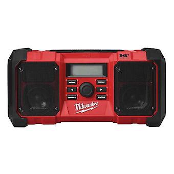 Milwaukee M18JSRDAB+-0 M18 DAB Jobsite Radio (Nu)
