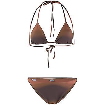 Jacquemus 201sw042015683b Women's Brown Nylon Bikini
