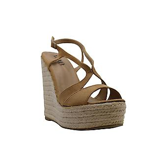 Xoxo Womens Sabeen Suede Open Toe Casual Ankle Strap Sandals