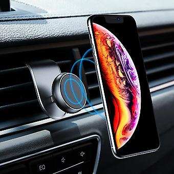 Floveme upgrade l-shape magnetic air vent car phone holder 3.5-7.0 inches smart phone for iphone 11 samsung galaxy note 10+ xiaomi redmi note 8 pro