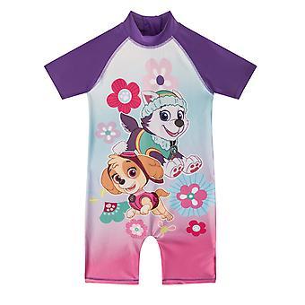 PAW Patrol Skye Everest Official Gift Toddler Girls Kids Swim Surf Suit