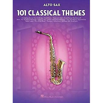 101 Classical Themes for Alto Sax by Hal Leonard Publishing Corporati
