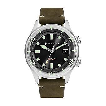 Spinnaker SP-5057-02 Gent's Bradner Green Strap Wristwatch