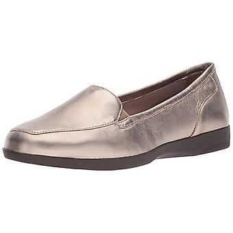 Easy Spirit Womens Devitt10 Leather Closed Toe Loafers