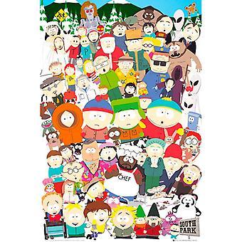 South Park Cast Maxi Juliste