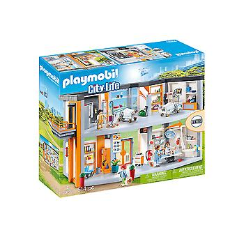playmobil 70190 city life large hospital playset 514pcs for ages 4 and above