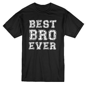 Best Bro Ever Chalk Graphic Men's T-shirt