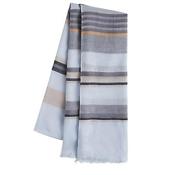 Sandwich Clothing Blue Striped Scarf