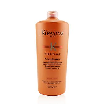 Discipline bain oleo relax control in motion shampoo (voluminous and unruly hair) 245647 1000ml/34oz