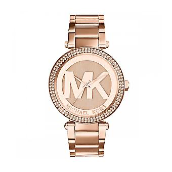 Michael Kors MK5865 Parker Ladies Watch - Rose Gold