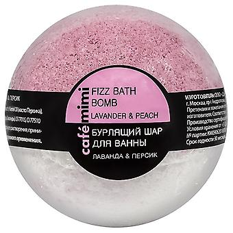 Cafe Mimi Effervescent bath pump lavender and peach 120 gr