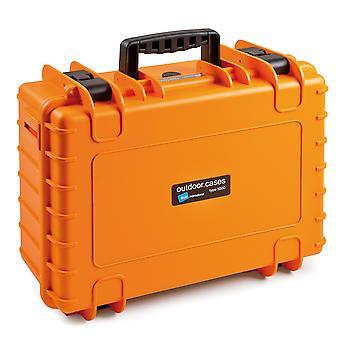 B&W Caja al aire libre Tipo 5000, Clasificación, Naranja