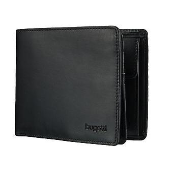 Bugatti Primo mens plånbok plånbok väska svart 4127