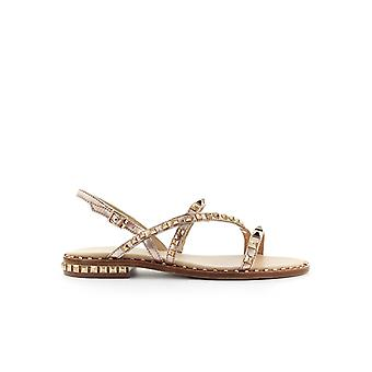 ASH PEACE COPPER FLAT SANDAL