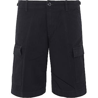 Carhartt I02824589 Men's Black Cotton Shorts