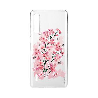 Skrog For Xiaomi Mi 9 Lite Myke Kirsebærblomster