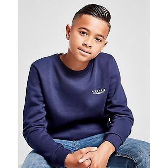 New Mckenzie Boys' Essential Crew Sweatshirt Blue