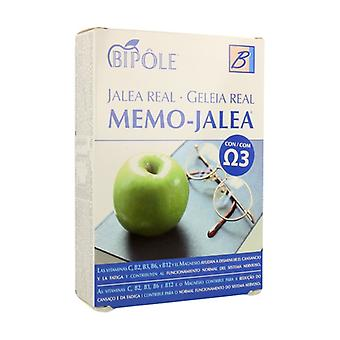 Memo Jelly 20 ampoules of 10ml