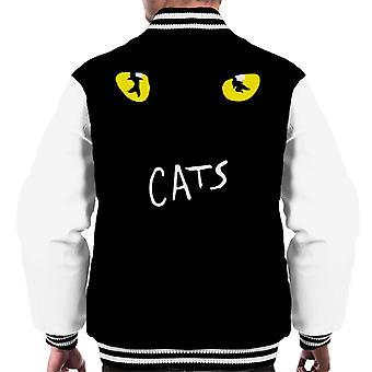 Cats Musical Logo Men's Varsity Jacket