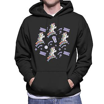 My Little Pony Love My Game Admit One Men's Hooded Sweatshirt