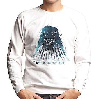 Godzilla Blue Flame Men's Sweatshirt