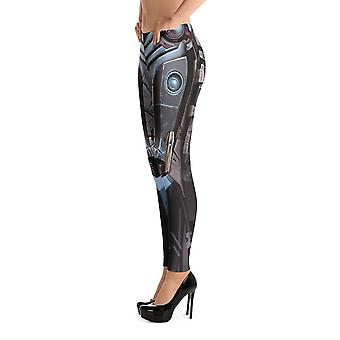Mote Leggings | Fancy | Robot Design