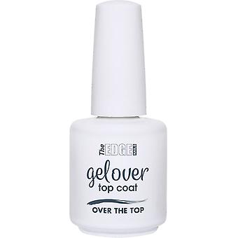 The Edge Nails Gelover 2019 Soak-Off Gel Polish Collection - Over The Top (Topcoat) 15ml (2003309)