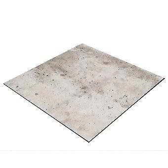BRESSER Flatlay Sfondo per posare immagini 60x60cm pietra beige