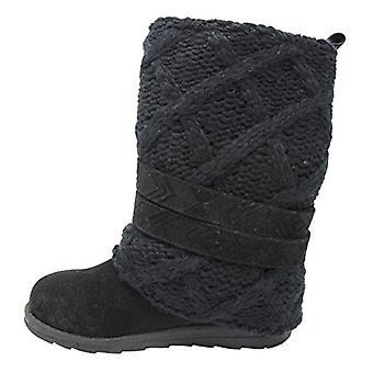 Muk Luks Womens 0016613025-7 NuBuck Closed Toe Mid-Calf Fashion Boots