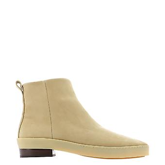 Fear Of God 6p207007103 Men's Beige Leather Ankle Boots