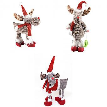 Davies Products Standing Rudolph Christmas Decoration