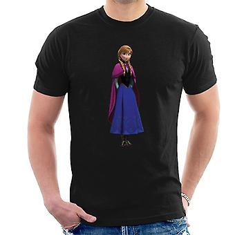 Disney frozen Prinzessin Anna Hände hinter zurück Männer's T-Shirt